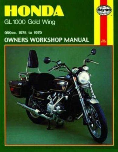 amazon com haynes repair manual gl1000 goldwing 309 automotive rh amazon com 2015 goldwing owners manual 2012 goldwing service manual