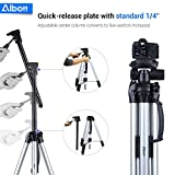 Albott 70 Travel Portable DSLR Camera Tripod Monopod Flexible Head for Canon Nikon with Carry Bag