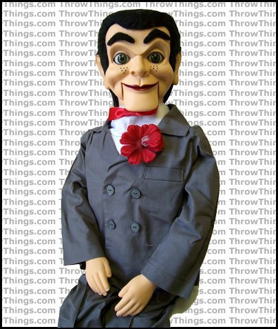Slappy From Goosebumps Super Deluxe Upgrade Ventriloquist -