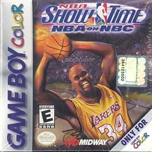 Amazon.com: NBA Showtime - Game Boy Color: Nintendo Game