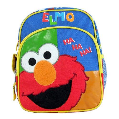 Sesame Street Elmo School Backpack Small, 10″ Bag, Bags Central