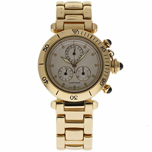 Cartier Pasha swiss-quartz womens Watch 1353/1 (Certified Pre-owned)