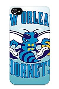 New Style Guidepostee Basketball Nba New Orleans Hornets Premium Tpu Cover Case For Iphone 4/4s