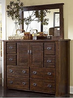 Trestle wood Dresser