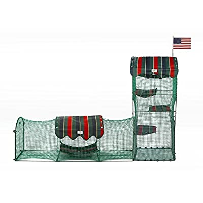 Town and Country Collection Outdoor Cat Enclosure from Kittywalk