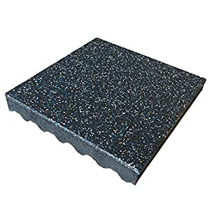 Amazon Com Rubber Cal Quot Eco Safety Interlocking Playground Tiles 3 X 19 5 X 19 5 Inch 2 Speckled Colors Sports Amp Outdoors