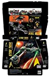 Mega Bloks Star Trek Klingon D7 Battle Cruiser Collector Construction Set