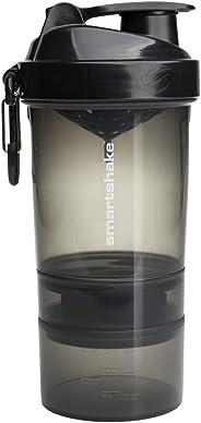 Coqueteleira SmartShake Original V2-600 ml (Diversas Cores)-Preto-R1