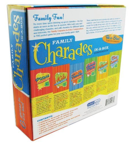 Wedding Charades Ideas: Family Charades-in-a-Box Compendium