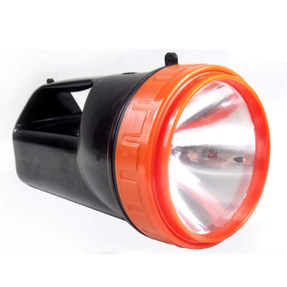 SYXL Outdoor-Suchscheinwerfer Handheld wasserdicht Home Outdoor Patrol Camping Lade Taschenlampe