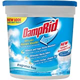DampRid FG01K Refillable Moisture Absorber, Fragrance Free, 10.5-Ounce