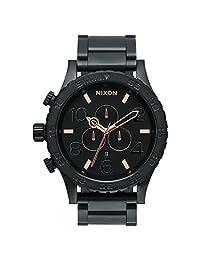 Nixon Men's 51-30 A083957 Black Stainless-Steel Quartz Watch