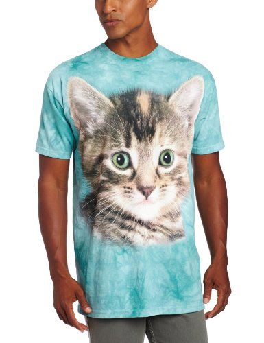 Striped Kitten Adulto Animals Unisex T Shirt The Mountain