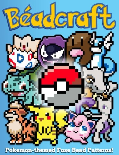 Beadcraft: Pokemon-themed Fuse Bead Patterns!