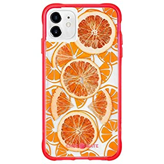 Case-Mate - iPhone 11 Case - Tough Juice - Made with Real Fruit - 6.1 - Fresh Citrus (CM039532)