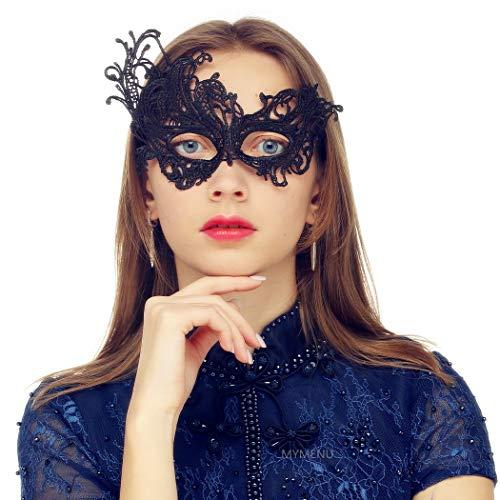 MYMENU Masquerade Mask for Women Luxury Venetian Mask Women
