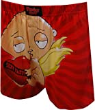 Family Guy Men's Stewie Cupid Boxer Short Small