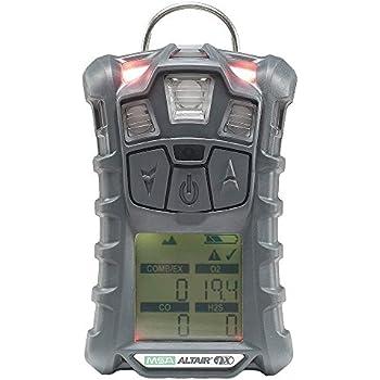 MSA 10125912 Altair 4X Multi Gas Detector, Charcoal