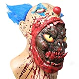 Scary Halloween Zombie Mask Horror Face Mask Evil Zombie Mask Deal (Small Image)
