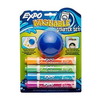 Amazon.com: Crayola; Washable Dry-Erase Markers; Art Tools