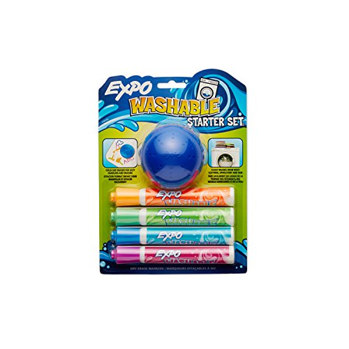 Washable Bullet Assorted Colors 5 Piece