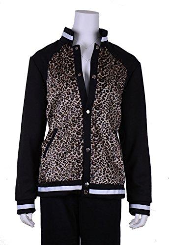 RedCoser Unisex High School Sportswear Jacket Blue Athletic Coat - Asia L (US Female M)