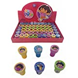 New! (60ct) Disney Dora the Explorer Stamps Stampers Self-inking Party Favors