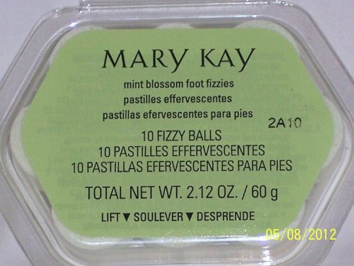 Mary Kay Limited Edition Foot Fizzies Mint Blossom 10 Ct