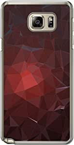 Loud Universe Samsung Galaxy Note 5 Geometrical Printing Files A Geo 51 Printed Transparent Edge Case - Multi Color