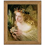 Design Toscano Take the Fair Face of Woman, 1870, Canvas Replica Painting: Large