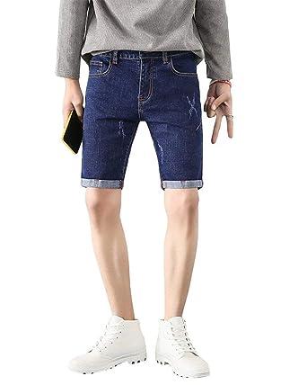 Pantalón Casual De Los Hombres Pantalones Cortos De Bermudas ...