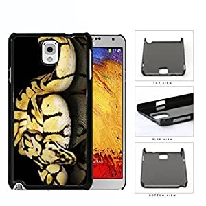 Ball Python Snake On Mirrored Surface Hard Plastic Snap On Cell Phone Case Samsung Galaxy Note 3 III N9000 N9002 N9005