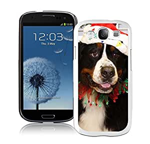 Personalization Christmas White Dog White TPU Samsung Galaxy S3 Case,Case For Samsung I9300