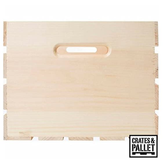Amazon.com: Cajones y paletas de madera de pino Crate hecho ...