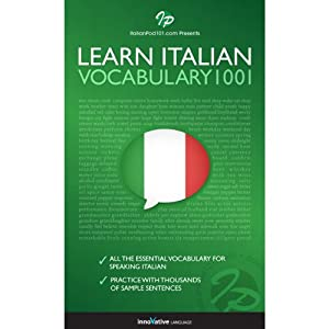 Learn Italian - Word Power 1001 Audiobook