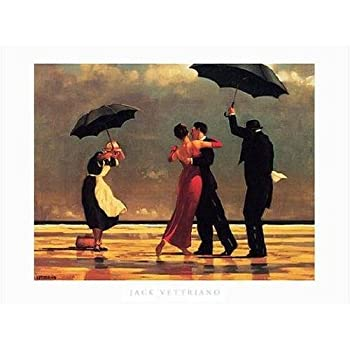 The Singing Butler /& Elegy for a Dead Admiral Vettriano 2 Print Set 19.75x15.75
