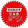 Freud D0536X Diablo 5-3/8-Inch 36 Tooth ATB Finish Cordless Trim Saw Blade