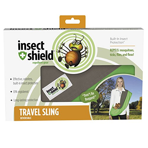 Insect Shield Insect Repellant Reversible Dog Sling Carri...