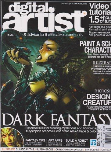 digital artist magazine - 1