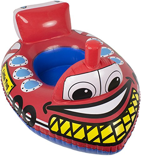 Poolmaster Learn-to-Swim Baby Swimming Pool Float Rider, Tug Boat - http://coolthings.us