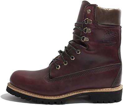 Traer Faceta incrementar  Amazon.com: Timberland Boot A1JXM USA Made Granate: Shoes