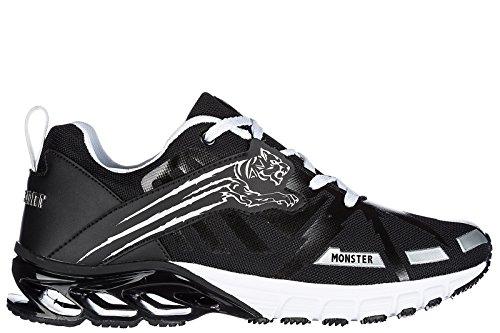 Plein Sport Scarpe Sneakers Uomo Nuove Originale i m Gonna Talk Nero