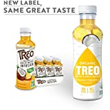 Organic Treo - Fruit and Birch Water Drink, Coconut Pineapple, 16 Fl oz. (Pack of 12)