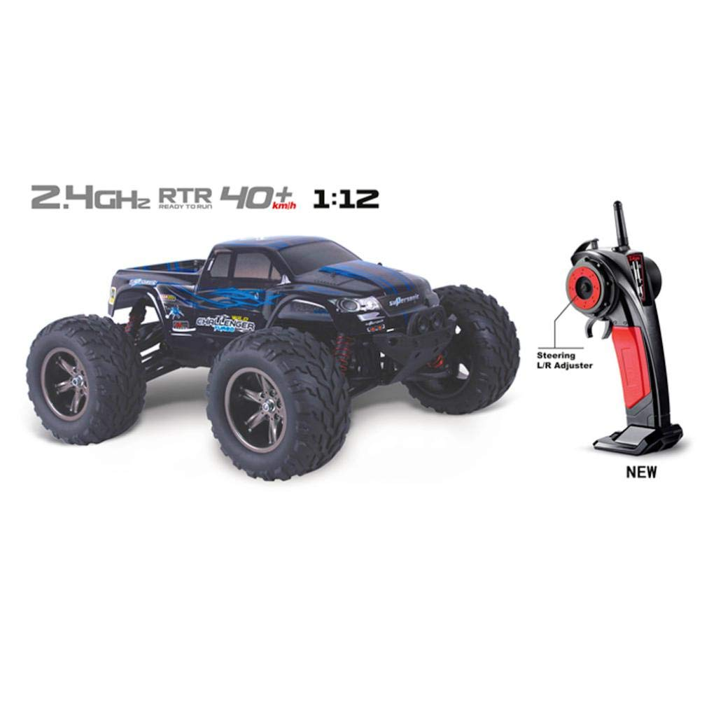 Gbell 42 km/h High Speed Off-Road RC Racing Cars, 35+MPH 1/12 2.4Ghz Remote Controlled Vehicle RC Racing Car Buggy Toys Christmas Birthday Gifts Boys 6-15 Years Old (Blue)