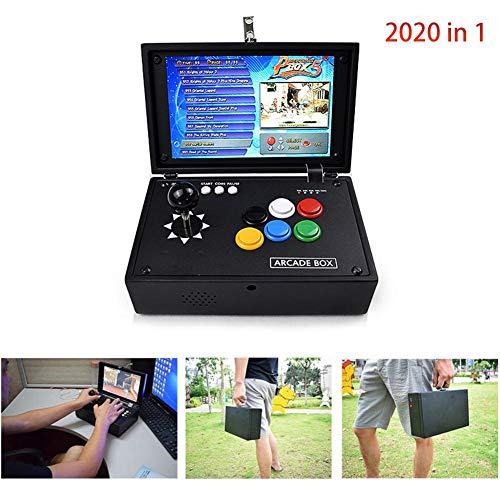 Topaty Portable 10'' Screen 2177 in 1 Arcade Game Machine Retro Console with Arcade Joystick 3.5mm Audio Output Support HDMI Jamma Output by Topaty (Image #6)