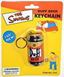 The Simpsons Duff Beer Keychain by Rix