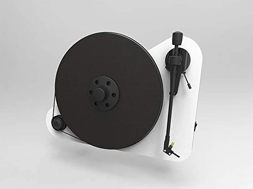 Pro-Ject VTE Vertical Turntable with OM5 Cartridge – White