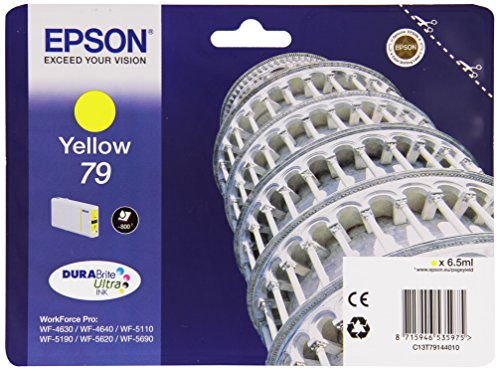 Price comparison product image Epson 79 - Yellow - original - ink cartridge - for WorkForce Pro WF-4630DWF, WF-4640DTWF, WF-5110DW, WF-5190DW, WF-5620D