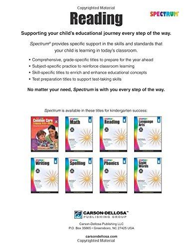 Spectrum Reading Workbook, Grade K: Spectrum: 9781483812137 ...