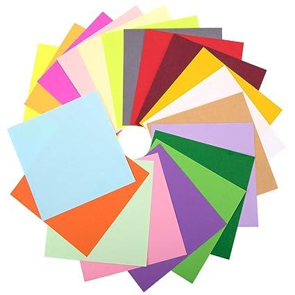 Set de papel origami, 200 hojas de doble cara 20 paquete de ...